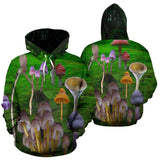 Mushroom Land Hoodie For Men Or Women