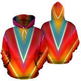 Azteca Colors Abstract Hoodie