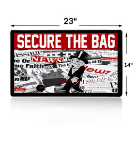 Secure The Bag Extra Large Mouse Pad