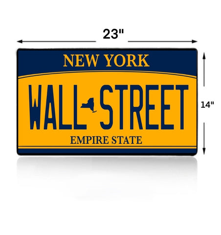 Wall Street License Mouse Pad