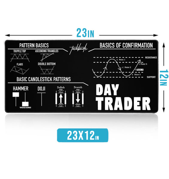 """Day Trader"" Extra Large Mouse Pad"