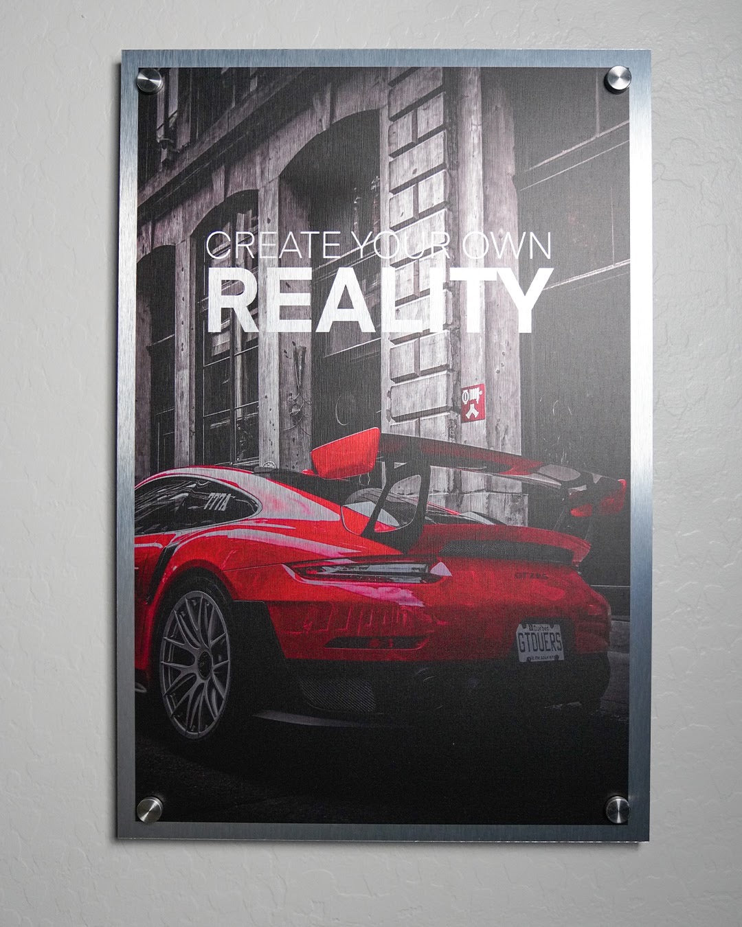 Create Your Own Reality Wall Art