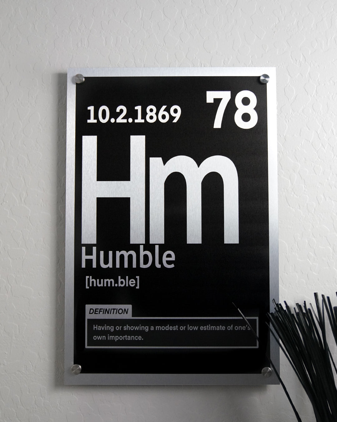 Humble Periodic Element