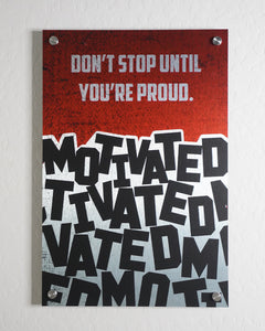 Motivated Wall Art