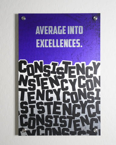 Consistency Wall Art