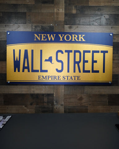 Wall Street License Art
