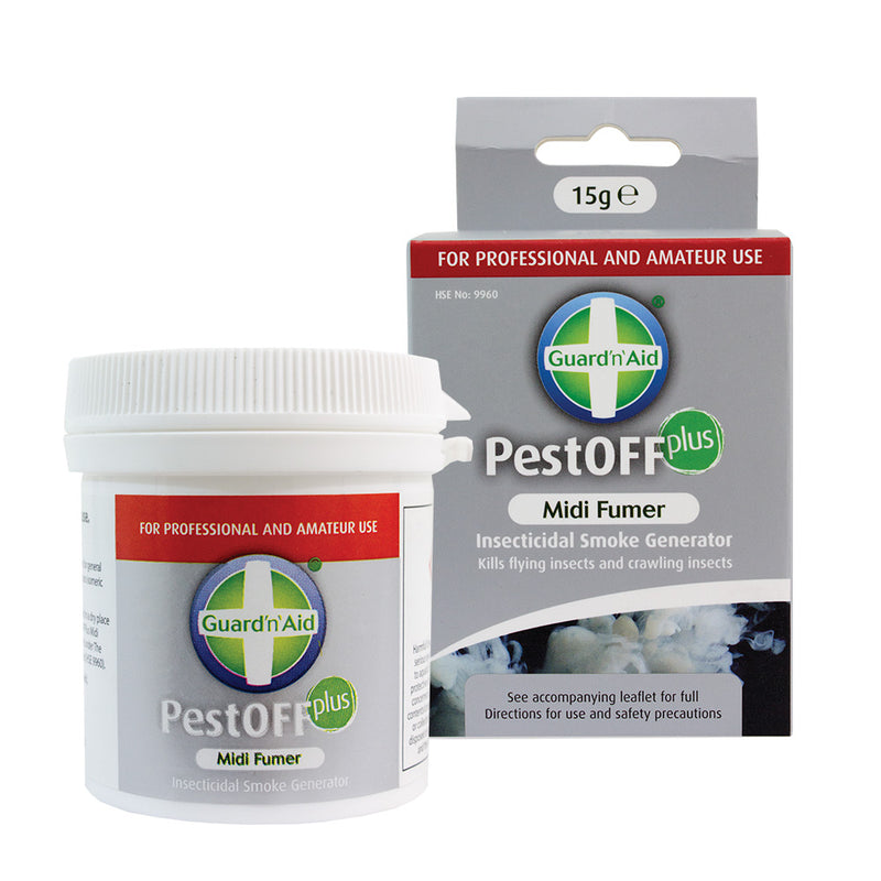 Guard'n'Aid PestOFF Plus natural fumigators - National Hydroponics