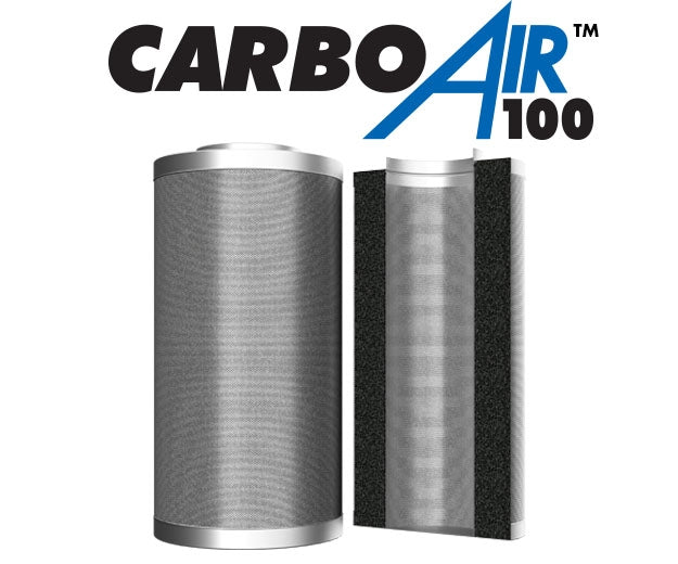 CarboAir Carbon Filters 100mm Bed - National Hydroponics