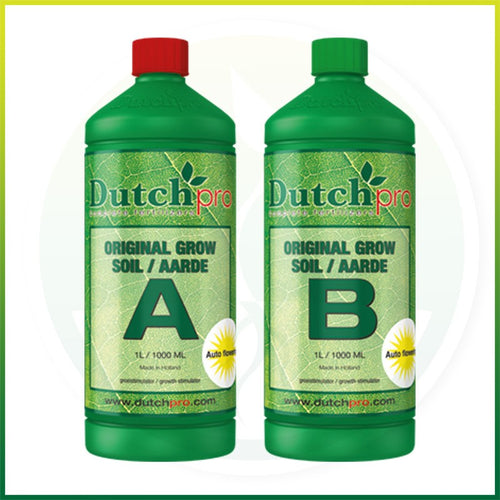 Dutch Pro Original Soil Grow A+B - National Hydroponics