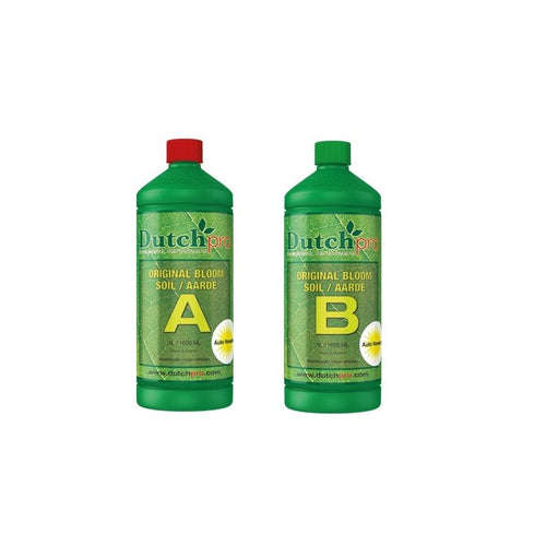 Dutch Pro Original Soil Bloom A&B - National Hydroponics