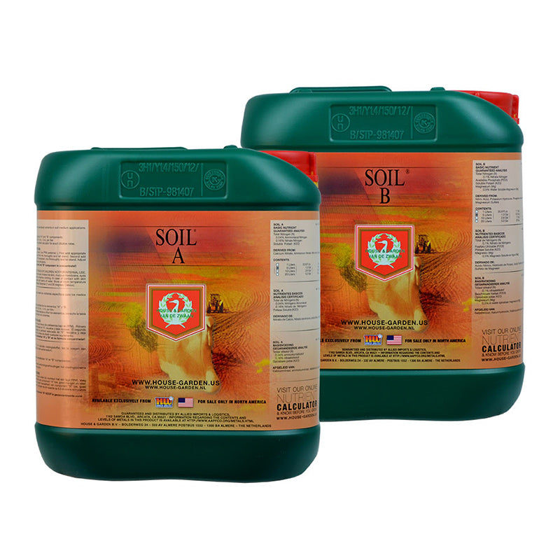 House & Garden Soil A&B - National Hydroponics