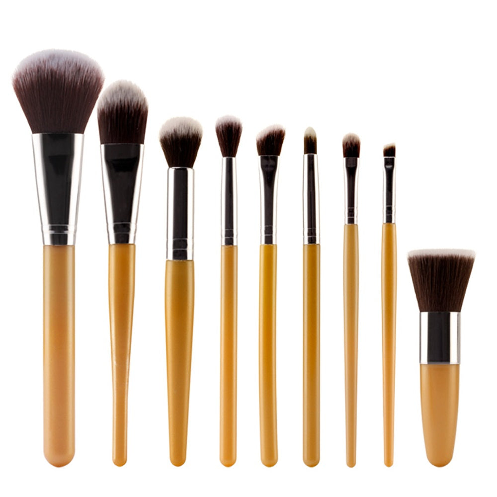Set 9 pensule make-up Bamboo Professional (2022142083190)
