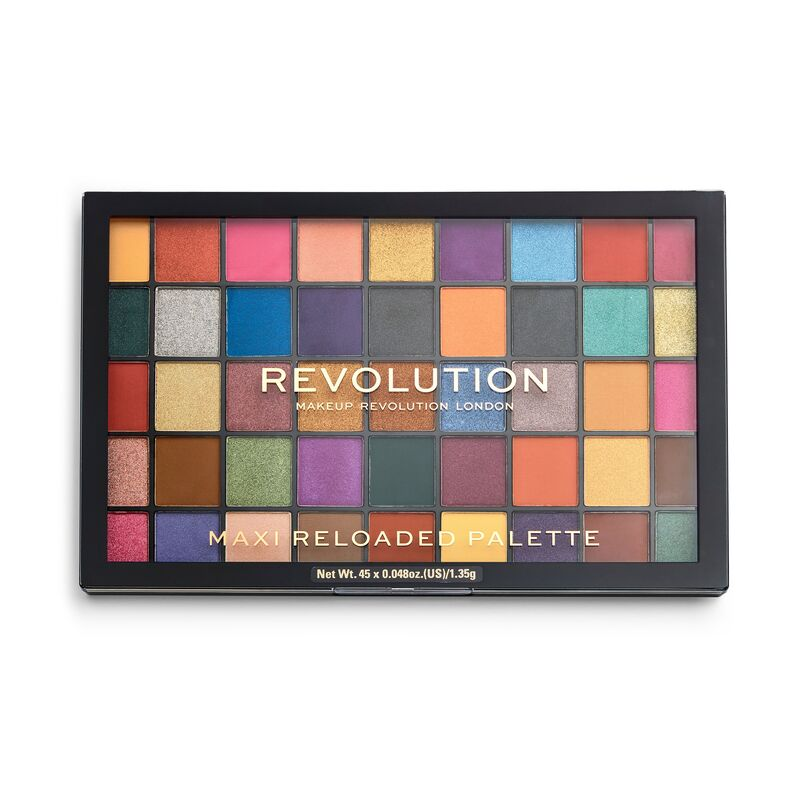 Paleta Farduri de pleoape Makeup Revolution Maxi Reloaded Palette Dream Big