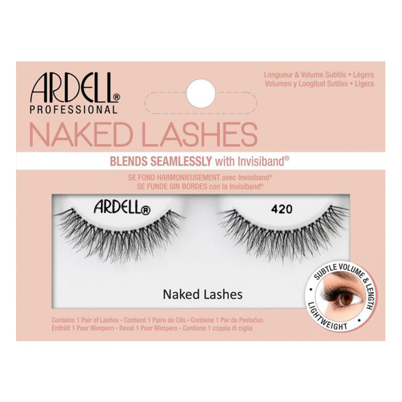 Gene False din par natural Ardell Naked Lashes