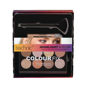 Kit machiaj Technic Highlight & Glow