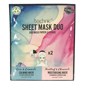 Masca pentru fata Technic Calming & Moisturizing Sheet Mask Duo