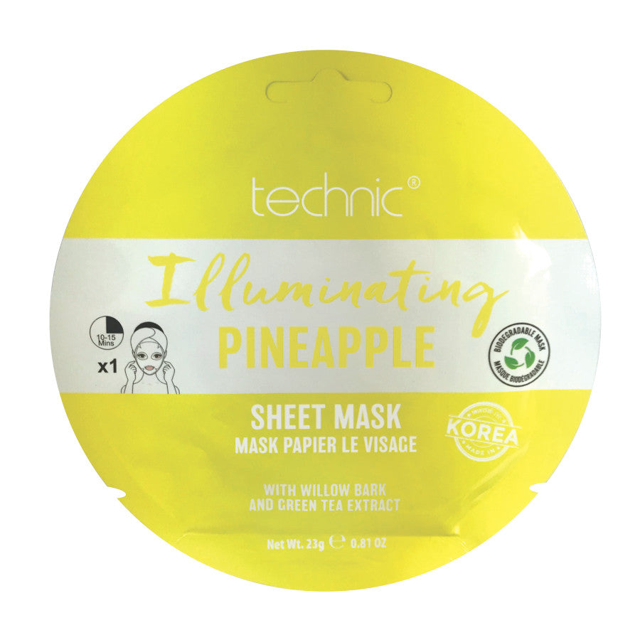 Masca pentru fata Technic Illuminating Pineapple Mask