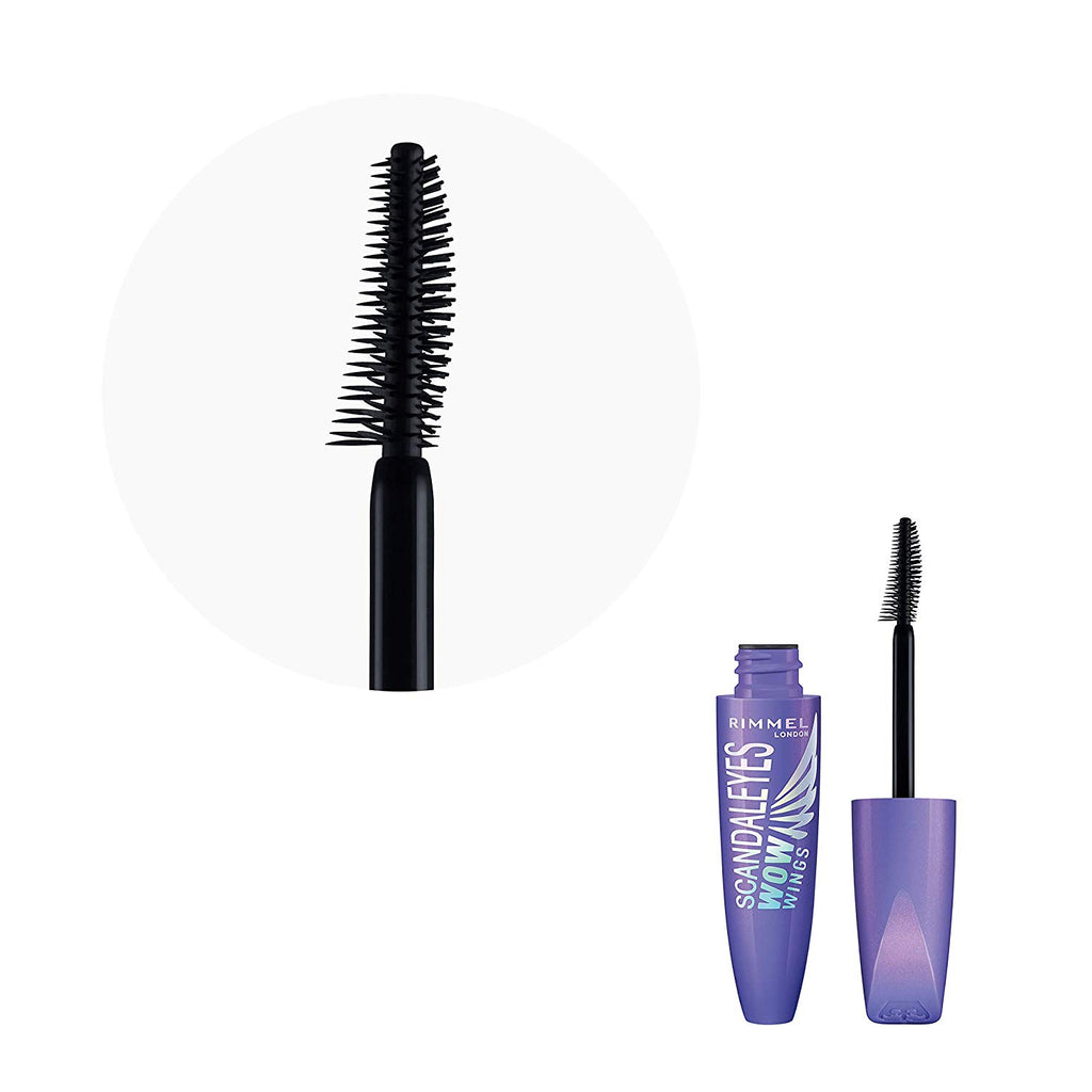 Mascara Rimmel London ScandalEyes Wow Wings Black