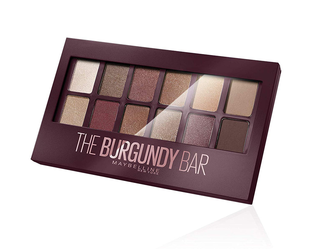 Paleta de farduri Maybelline New York The Burgundy Bar