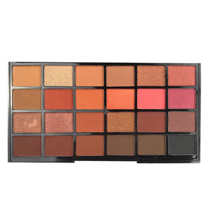 Paleta farduri de pleoape Technic 24 Eyeshadows Palette The Heat is On