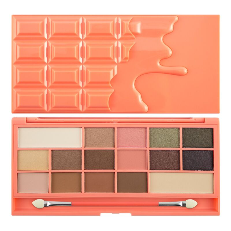 Paleta farduri de pleoape I ♥ Makeup Chocolate and Peaches Eyeshadow
