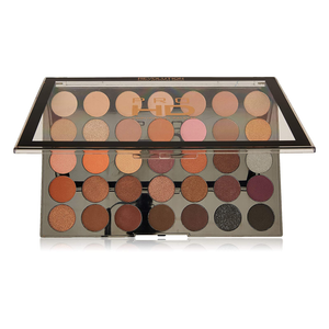 Paleta Farduri de pleoape Makeup Revolution Amplified 35 Neutrals Warm