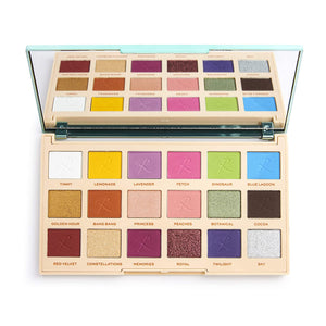 Paleta Farduri de pleoape Makeup Revolution London Roxxsaurus Colour Burst