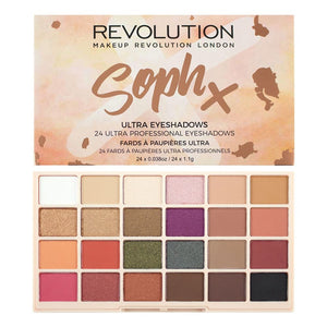 Paleta Farduri de Pleoape Makeup Revolution London Soph X