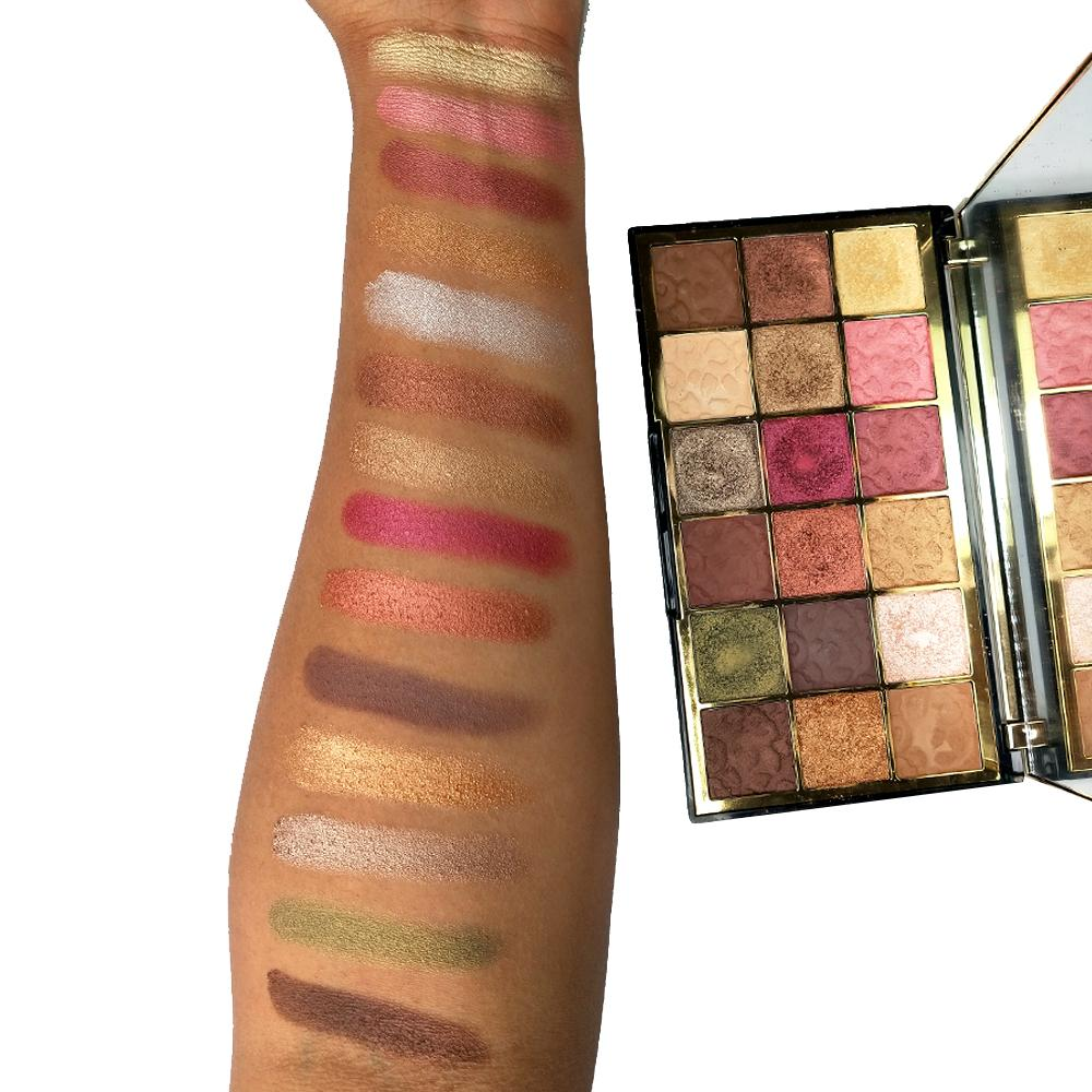 Paleta Farduri de pleoape Makeup Revolution Wild Animal Courage