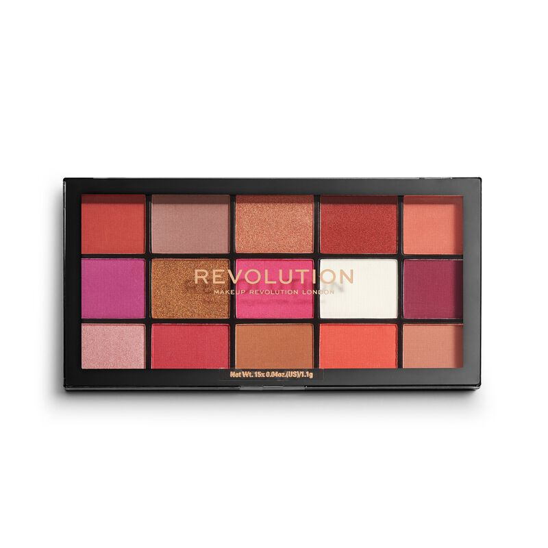 Paleta Farduri de pleoape Makeup Revolution London Reloaded Red Alert