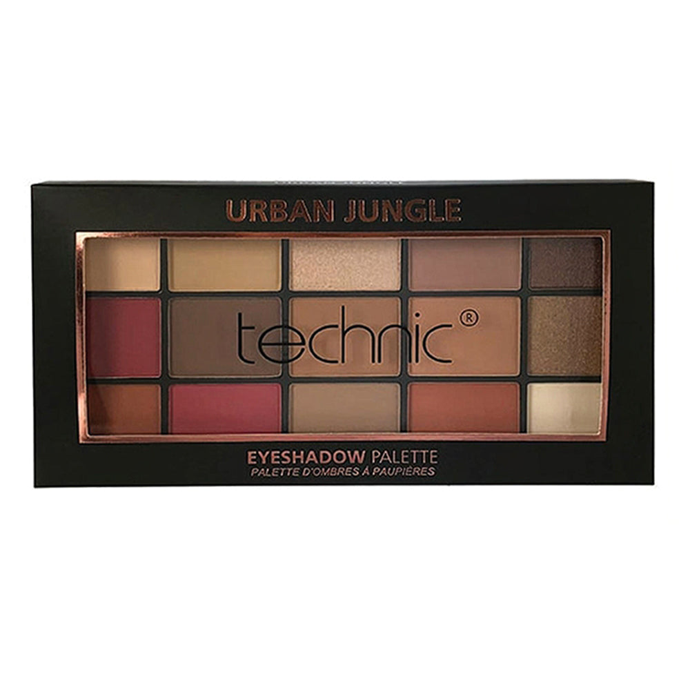 Paleta farduri de pleoape Technic Eyeshadows Palette Urban Jungle