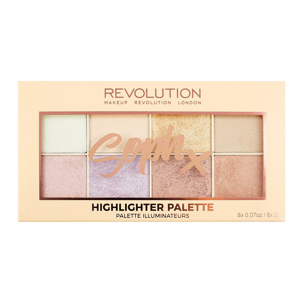 Paleta iluminatoare Makeup Revolution Soph X Highlighter