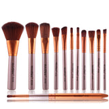 Set 12 pensule machiaj Precision Beauty