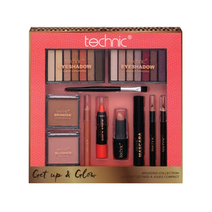 Set Machiaj Technic Get Up & Glow Bronzing Collection