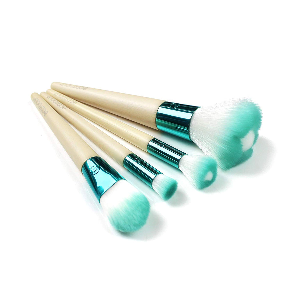 Set Pensule Profesionale EcoTools Blooming Beauty Make-up