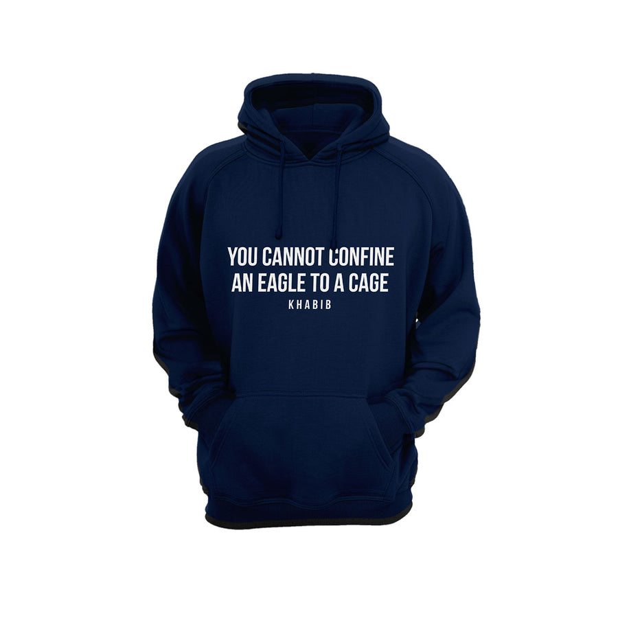 The Flying Eagle Quote Hoodie