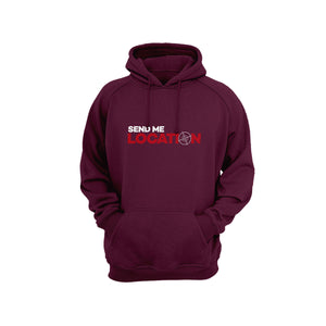Send Me Location Hoodie