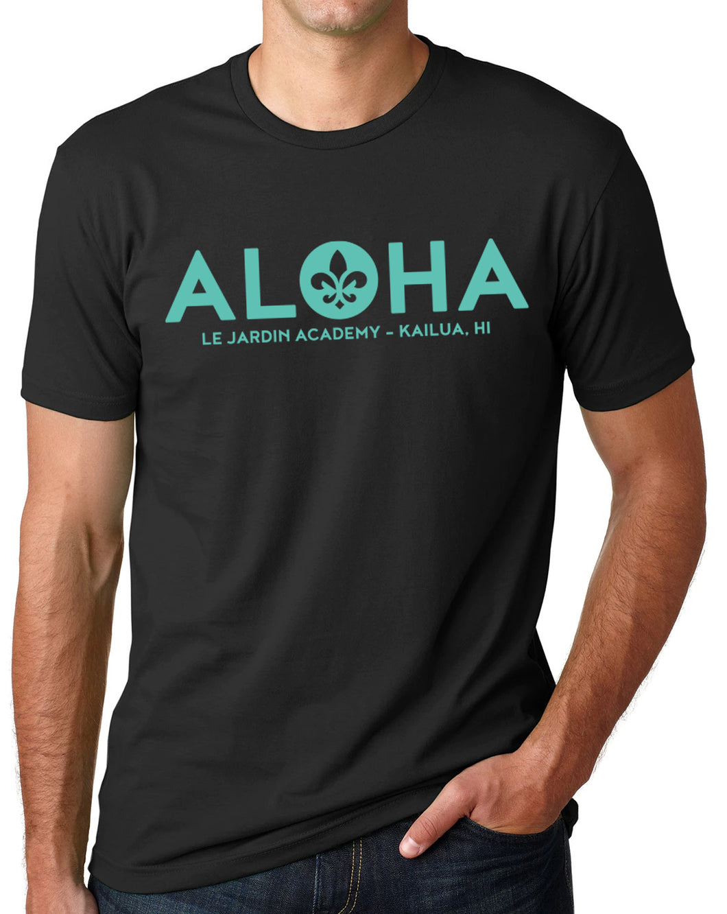 ALOHA Le Jardin men's and woman's shirt
