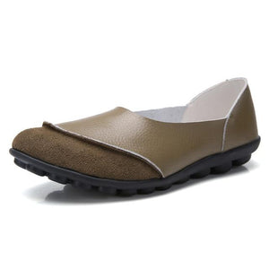 BunionFree Soft Leather Women's Flats for Bunion