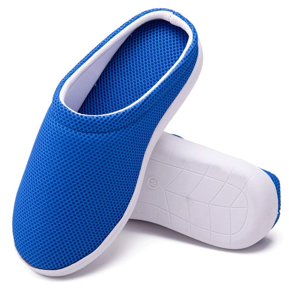 Comfy Bamboo Anti Fatigue Gel Diabetic Slippers