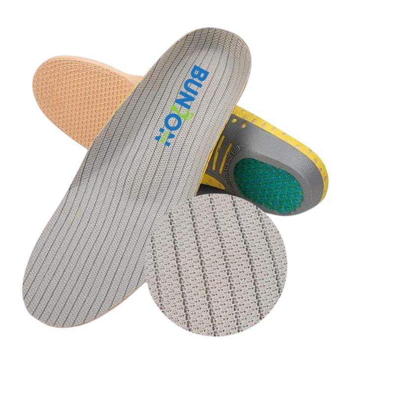 Orthopedic Insoles with Arch Support for Bunions and Flat Feet