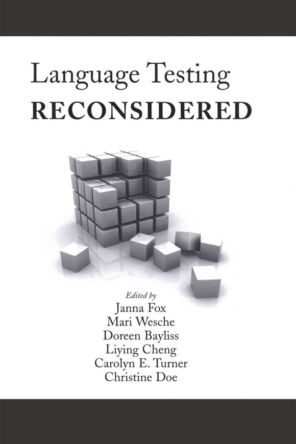 Language Testing Reconsidered