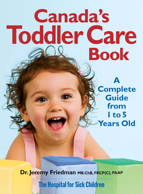 Canada's Toddler Care Book