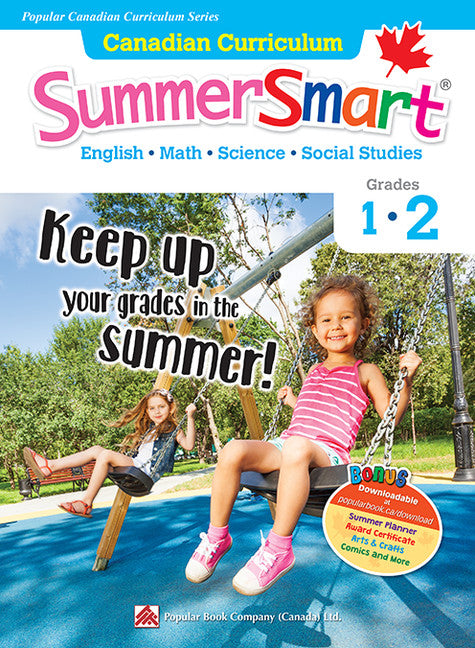 Popular Canadian Curriculum Series: Canadian Curriculum SummerSmart 1-2