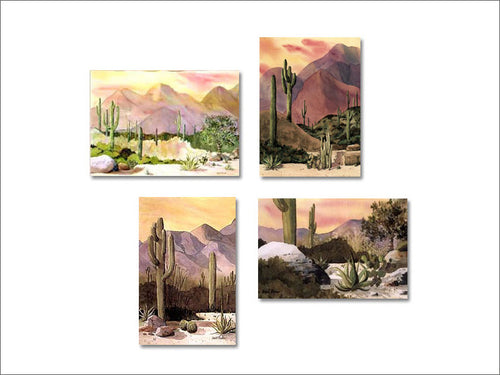 Cactus Series notecards