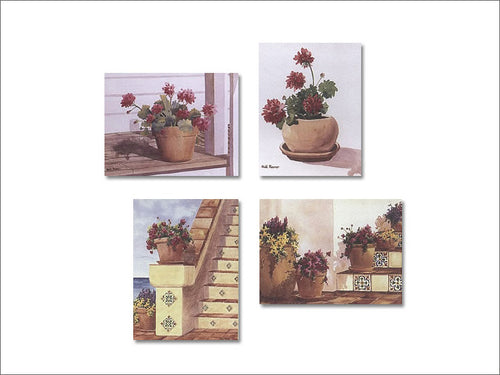 Geranium Series notecards
