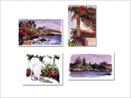 Landscape Series notecards