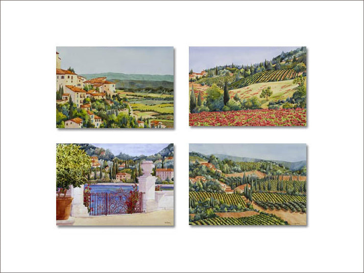 Vista Series notecards