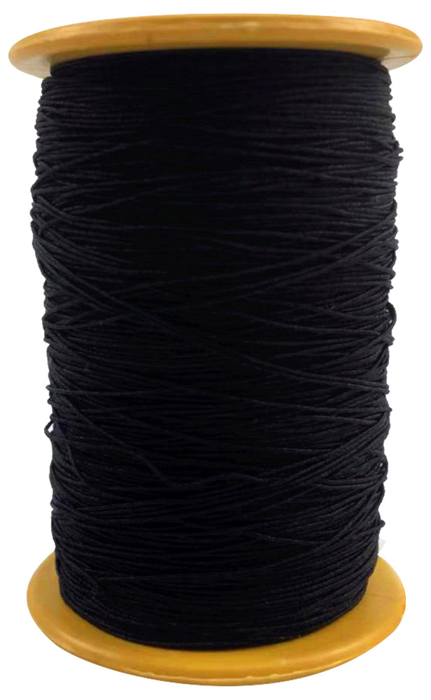 Qzunique 0 5mm 400m Elastic Cord Polyester Ribbon Stretch Beading Cord