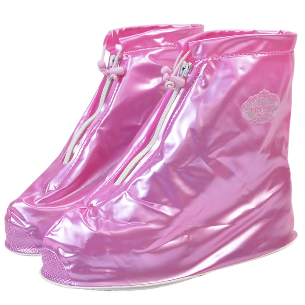 2a6c5bc9b940 Unisex Anti-slip Rain Boot Overshoes Reusable Waterproof Shoe Covers